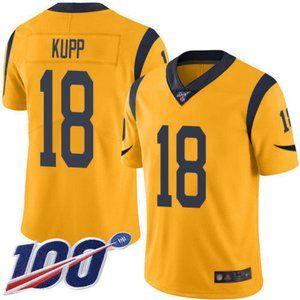 Rams Cooper Kupp 100th Season Jersey 3